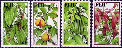 Fiji Spices Stamps